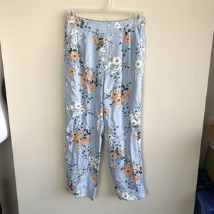 J. Crew garden floral pleated high rise pants 6